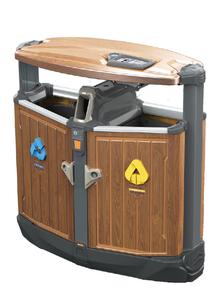 分木紋類果皮箱071