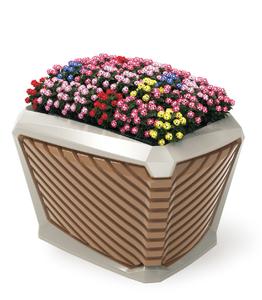 方形花盆224